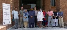Group photo of participants in the Digital Humanities workshop program.