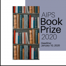AIPS Book Prize 2020 Announcement. Deadline: January 10, 2020
